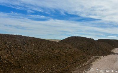 Compost for Organic Row Crops at Bingham Farm