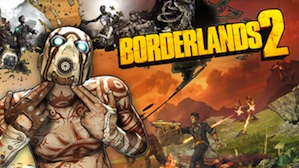 The official cover picture for Borderlands 2
