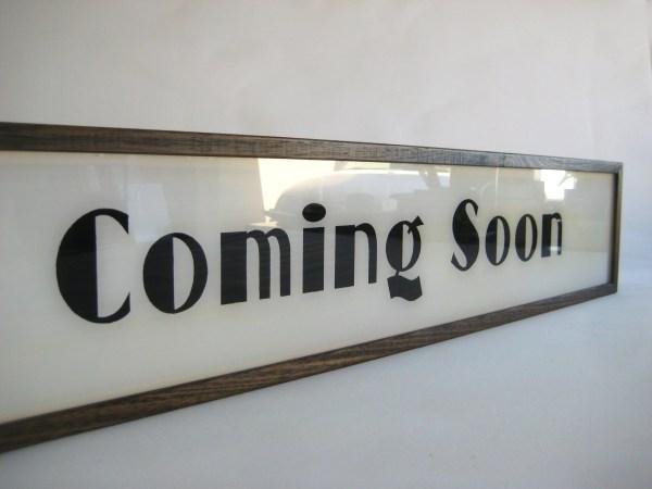Coming Sign - Bingkai