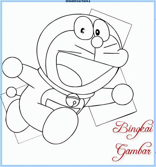 Sketsa Gambar Doraemon Nobita Dan Kawan