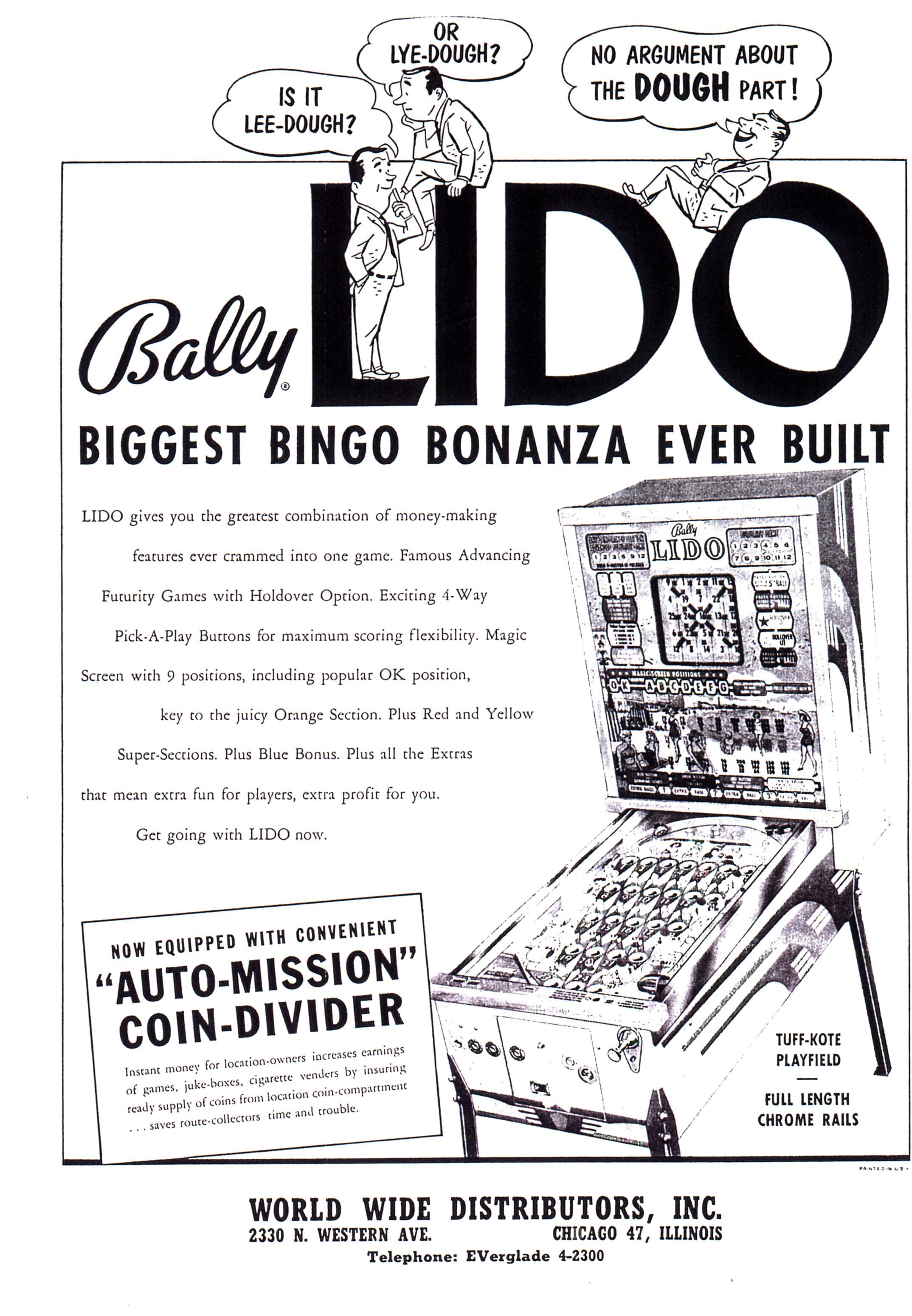 Bally : Lido