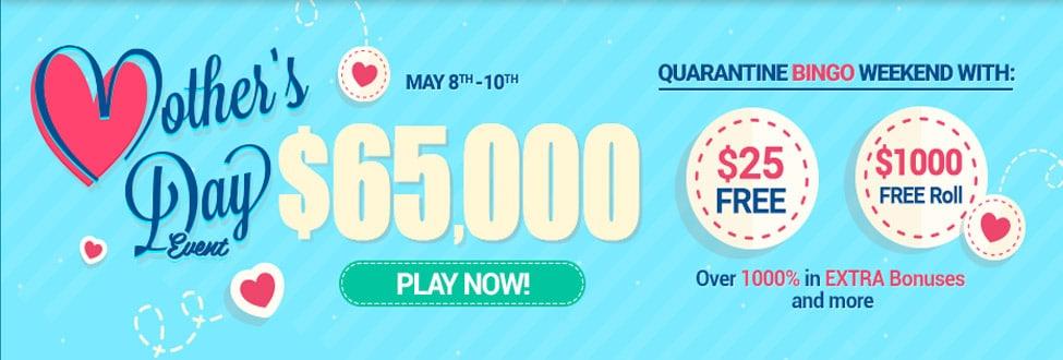 Mothers Day 65k Bingo Canada