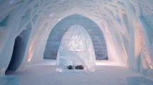 Bing Ice Hotel Kiruna Sweden