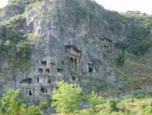 Gräber bei Fethiye