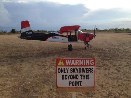 Skydiving auf Bantayan Island