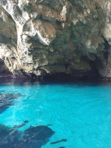 Bootstour Blaue Grotte himmelblaues Wasser - Malta