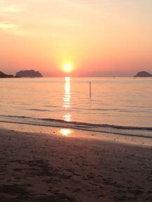 Noch ein Sonnenuntergang auf Koh Chang