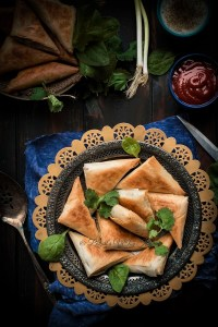 Spanakopita Triangles (Spinach Pie)