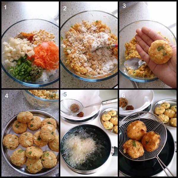 Leftover Rice Cutlets M