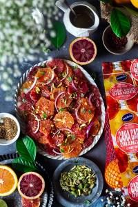 Mediterranean Orange Salad with Pistachios