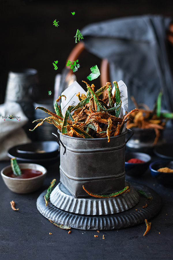 Kurkuri Bhindi or Okra Fries