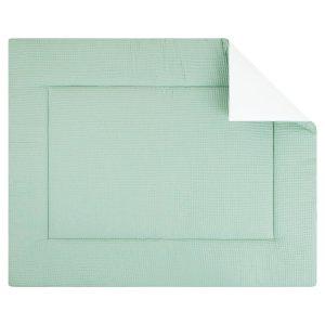 Boxkleed Pique wafel mint. Mooi speelkleed van zacht wafelkatoen in mintgroen. Standaard in de maat 80x100 cm. Ook andere maten mogelijk.