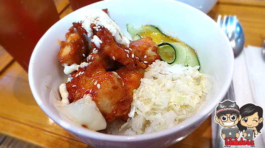 Spicy-Bbq-And-Mayo-Chicken-Karaage-On-Rice