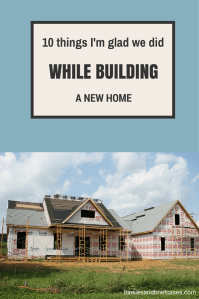 Building a New Home? Check Out These Ten Things I'm Glad ...