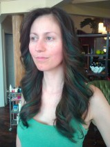 First time with green streak, angle 2 (June 2012) (Image of Celinka Serre)