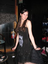 Café Chaos fashion show 1 (Harmony Walker Clothing - Autumn 2010) (Image of Celinka Serre)