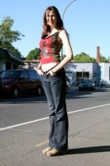 Outdoor photo shoot 2 (Harmony Walker Clothing - Spring 2010) (Image of Celinka Serre)