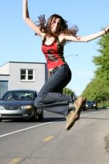 Outdoor photo shoot 4 (Harmony Walker Clothing - Spring 2010) (Image of Celinka Serre)