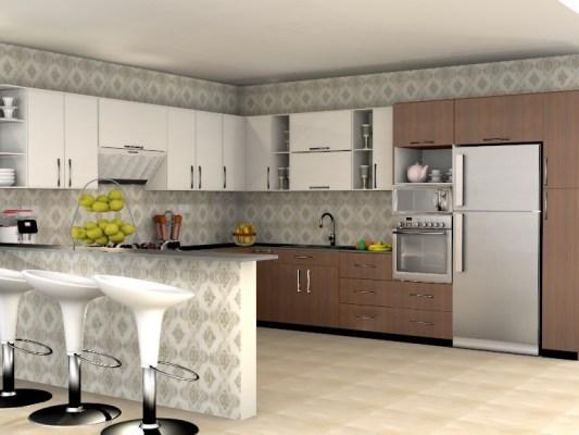 أرقى تصاميم لديكورات مطابخ حديثة صممت في عام 2020 3