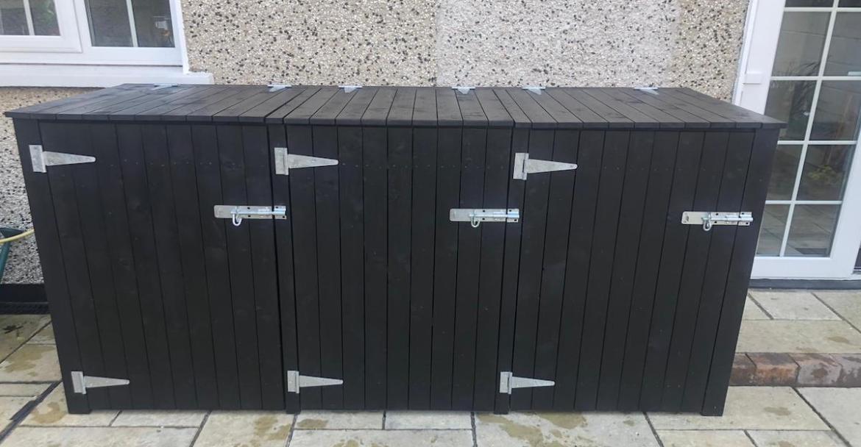 Trash Can Storage Sheds