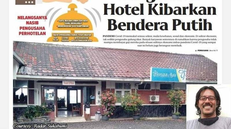Pengusaha Hotel dan Restoran di Pelabuhan Ratu Angkat Bendera Putih