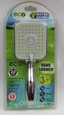 ES0112 3F Square Shape Hand Shower