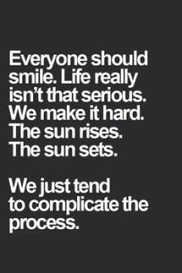 everyone should smile