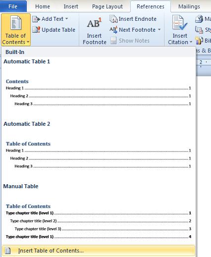 Cara Membuat Daftar Isi Otomatis dengan Ms Word - Portal-Ilmu.com