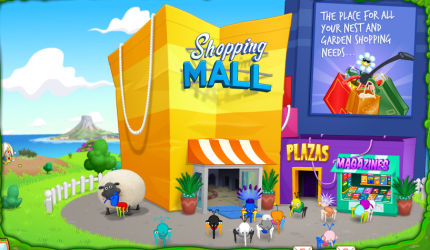 mall shopping outside cybermall bee bin vibrant weevil company retail brighter environmental friendly course much