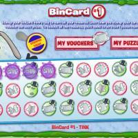 BIN CARDS