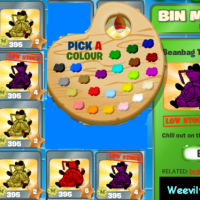 Brilliant Bin Weevil beanbags! Customize Bin Weevils beanbags to match your nest room colour schemes!