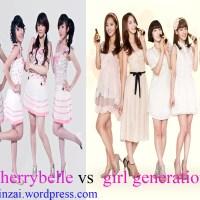 Girl Generation berkomentar tentang Cherrybelle