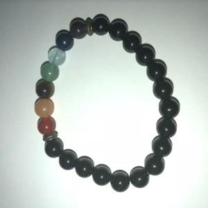 bracelet de perles en pierre