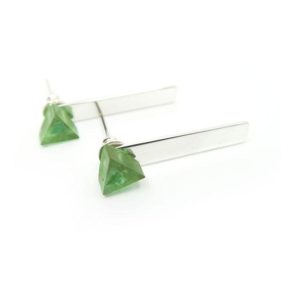 Divis Earrings – Green