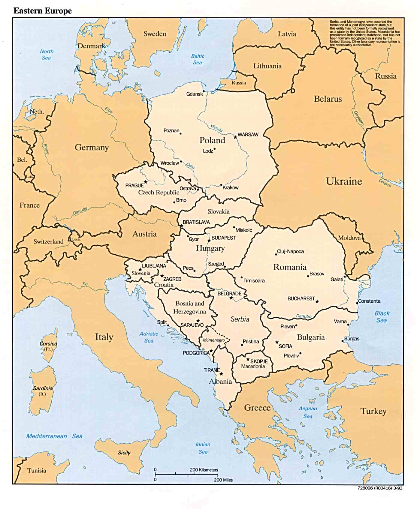 L Europe De L Est : europe, Europe, L'est
