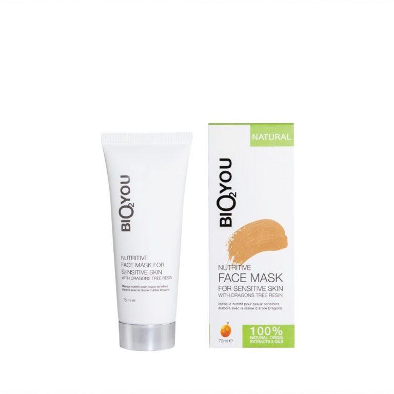 Bio2You verzorgend gezichtsmasker voor de gevoelige huid met drakenbloedboom hars