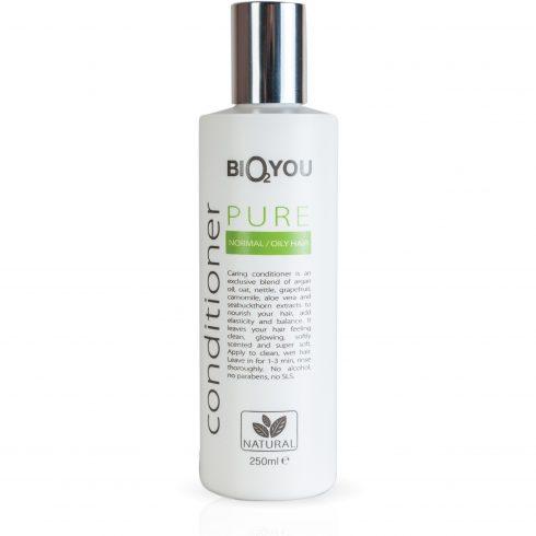 Bio2You conditioner Pure voor normaal en vet haar
