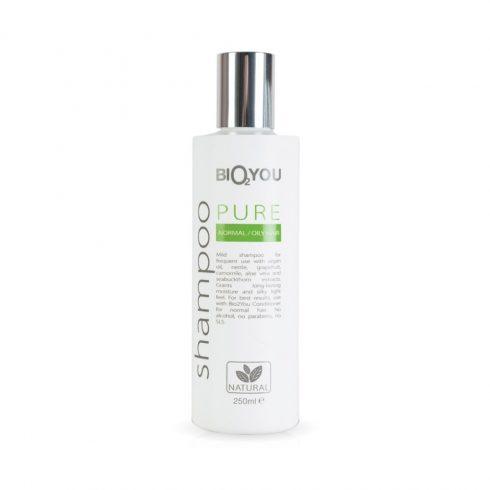 Bio2You shampoo Pure voor normaal en vet haar