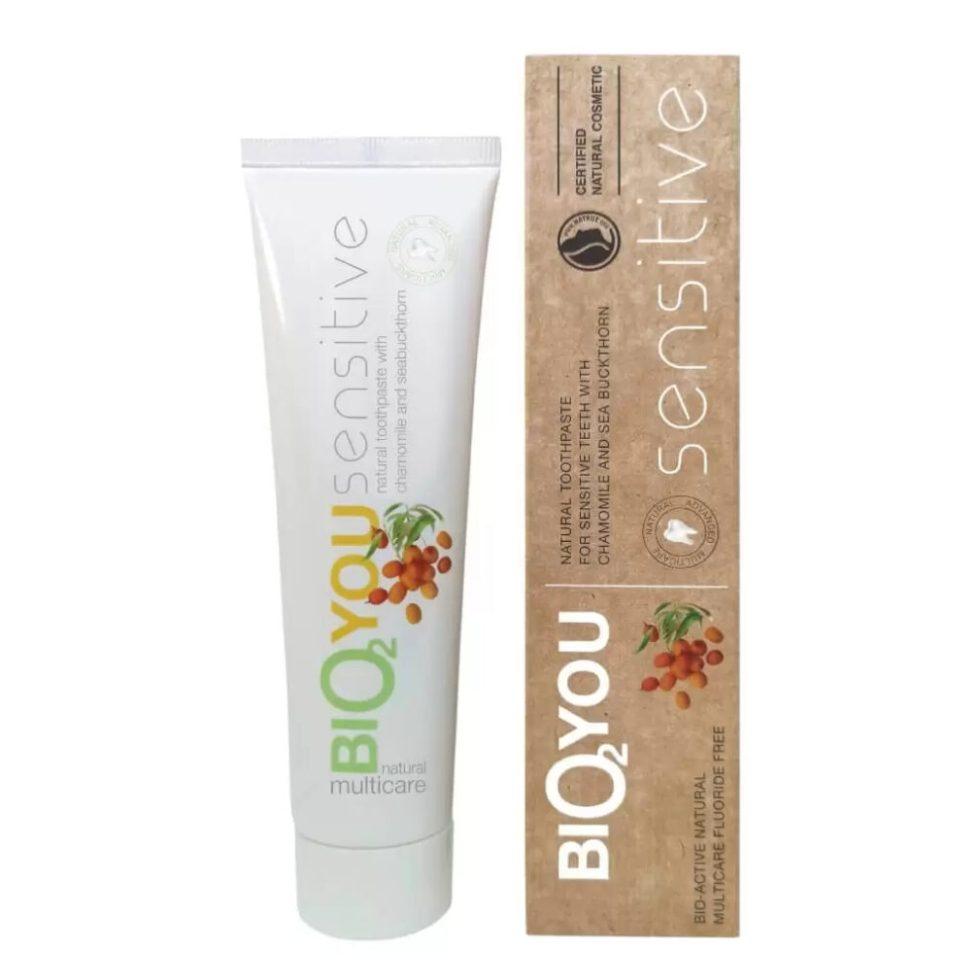 Bio2you tandpasta voor gevoelgie tanden