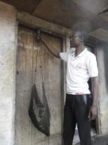 Weighing bushmeat