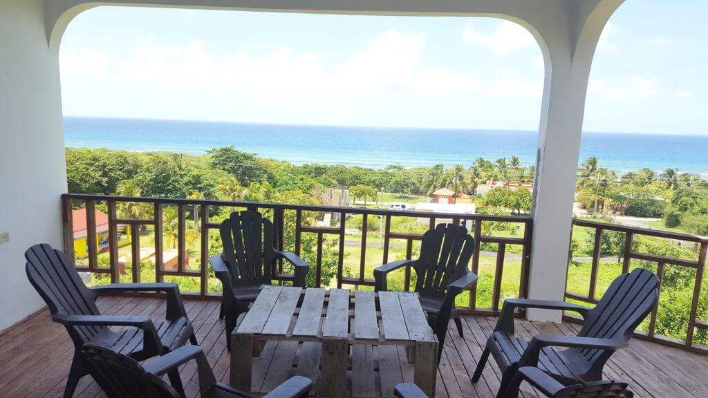 Vieques- Ocean View White House (From $22 Person/Night)