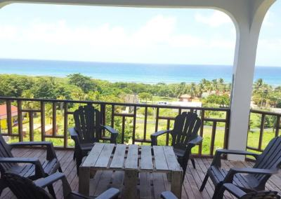 Vieques- Ocean view & BBQ & BEACH ITEMS (up to 18!)