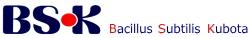Bacillus subtilis Kubota BSK菌、株式会社九宝のロゴ