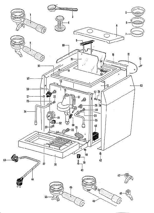 ECM Giotto Parts & Manuals