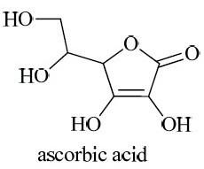 Examples of ascorbic acid. Determination of Ascorbic Acid