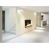 CBAF21 Purline is a bioethanol wall fireplace stainless ...