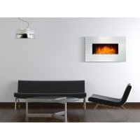 CHE 450, a stylish wall mounted electric fireplace with a ...