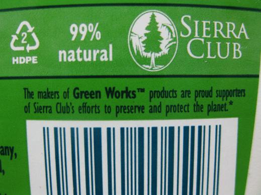 Sierra Club, greenwashing for $1.3 million dollars of Clorox's advertising budget