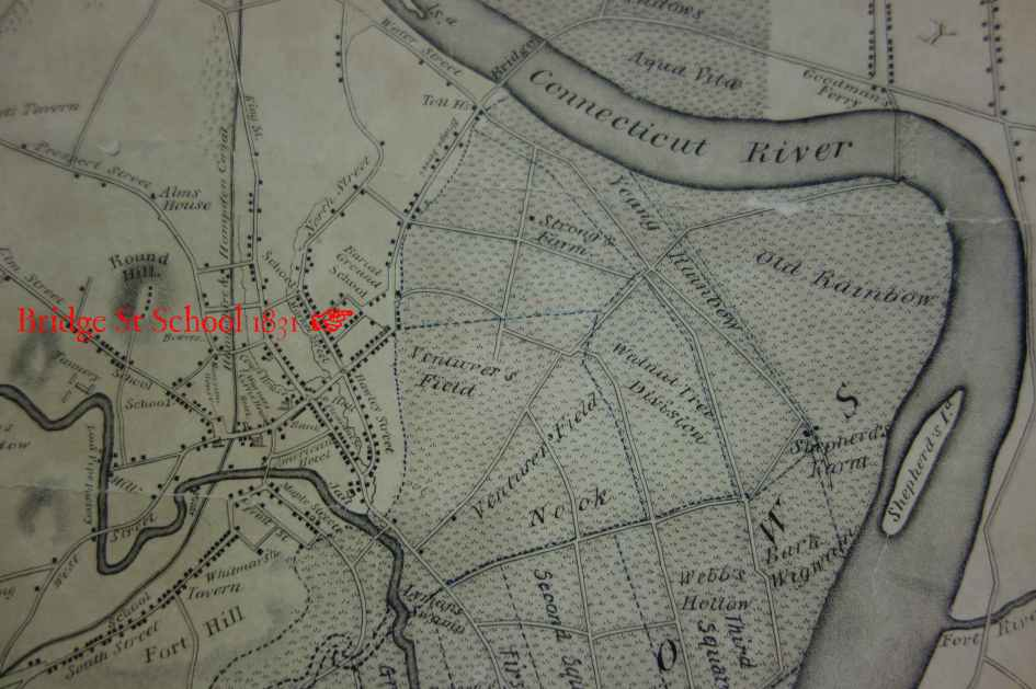 Bridge St school map 1831 copy