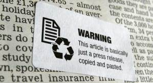 Journalism warning labels. Full of win!
